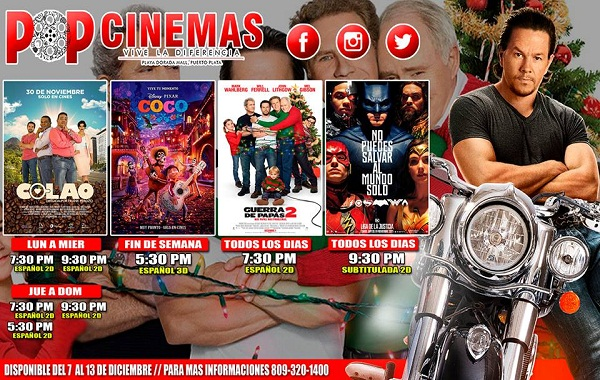 pop cinema Dic 13 bn